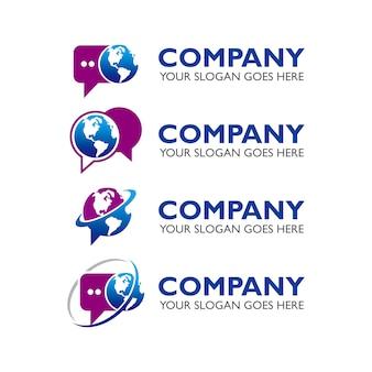 Logotipo de vetor de empresa de mídia