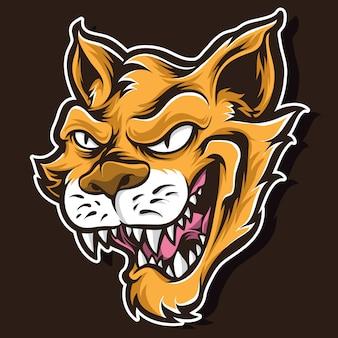 Logotipo de vetor de gato