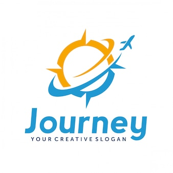 Logotipo de viagens