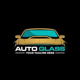 Logotipo de vidro auto