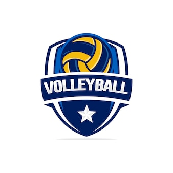 Logotipo de volleyball