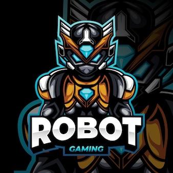 Logotipo detalhado do mascote do jogo