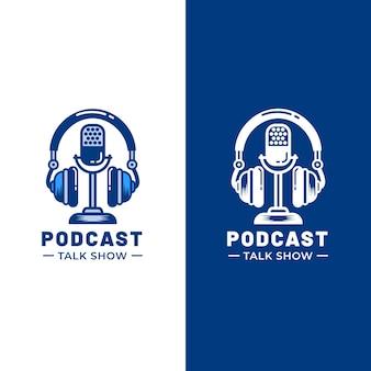 Logotipo detalhado do podcast