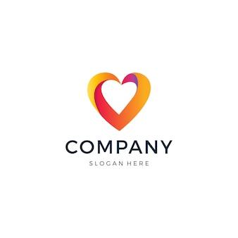 Logotipo do amor
