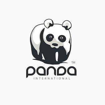 Logotipo do animal panda
