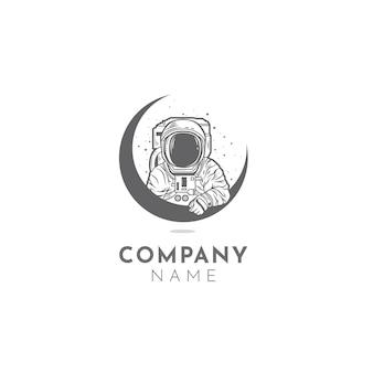 Logotipo do astronauta