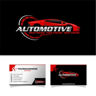 Logotipo do auto sport car