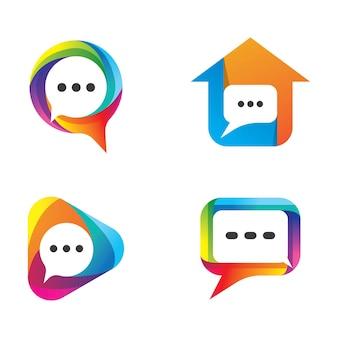 Logotipo do balão de fala