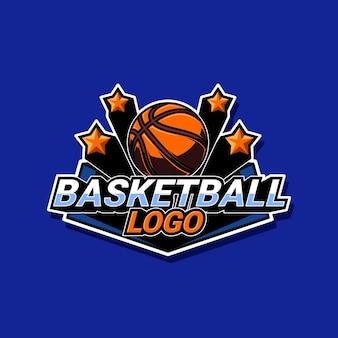 Logotipo do basquete