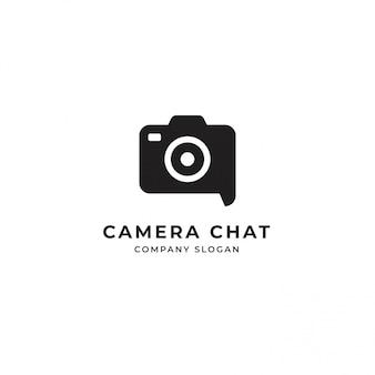Logotipo do bate-papo da câmera