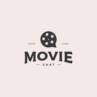 Logotipo do bate-papo do filme