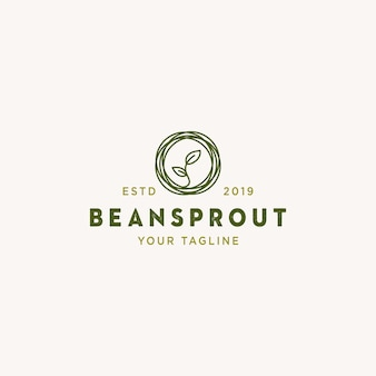 Logotipo do beansprout