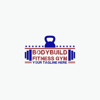 Logotipo do bodybuild