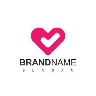 Logotipo do bom coração