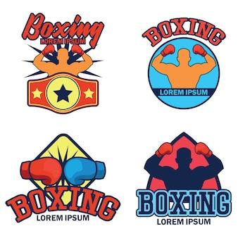 Logotipo do boxe