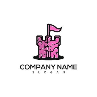 Logotipo do brain castle