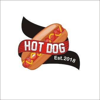 Logotipo do cachorro-quente