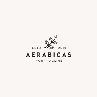 Logotipo do café aerabicas