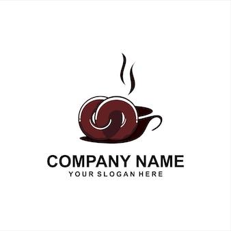 Logotipo do café donuts