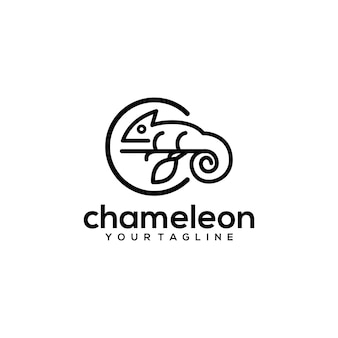 Logotipo do camaleão