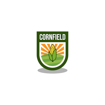 Logotipo do campo de milho