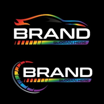 Logotipo do carro automotivo