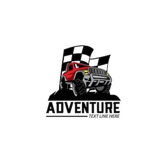 Logotipo do carro de aventura