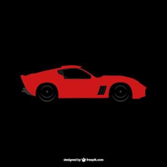 Logotipo do carro de esportes