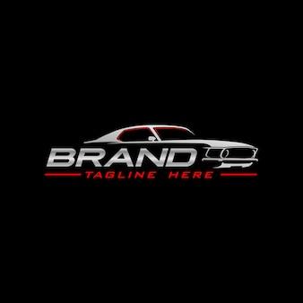 Logotipo do carro do músculo