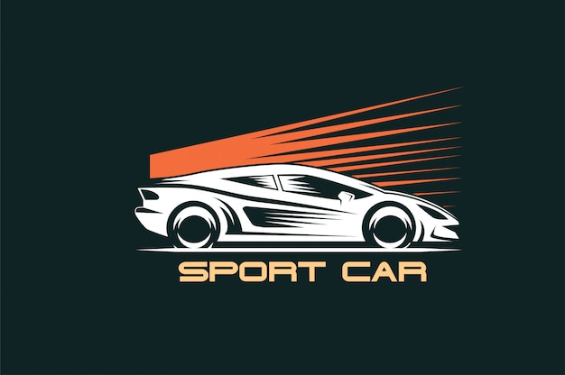 Logotipo do carro esporte