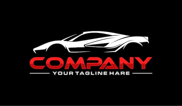Logotipo do carro esportes