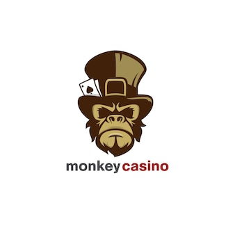 Logotipo do casino do macaco