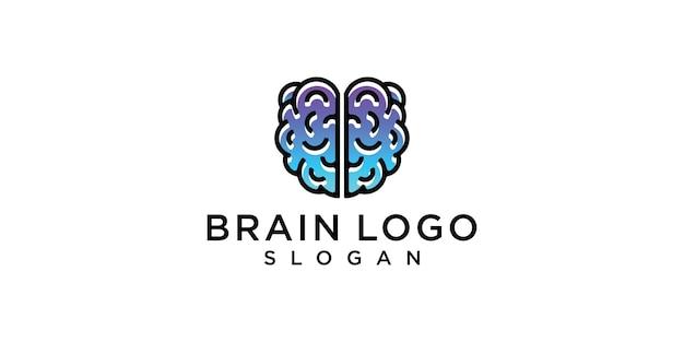 Logotipo do cérebro da memória