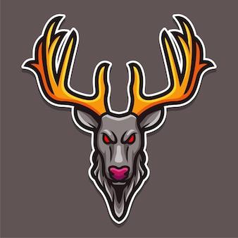 Logotipo do cervo