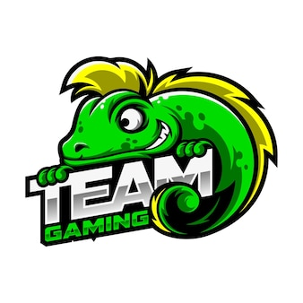 Logotipo do chameleon gaming