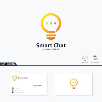 Logotipo do chat inteligente