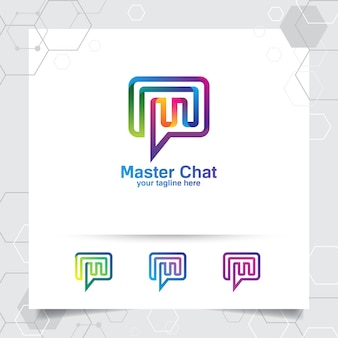 Logotipo do chat