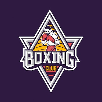 Logotipo do clube de boxe
