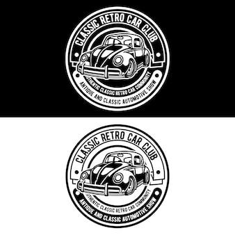 Logotipo do clube de carros clássicos