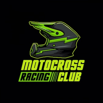 Logotipo do clube de corrida de motocross