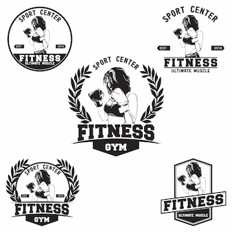 Logotipo do clube de fitness