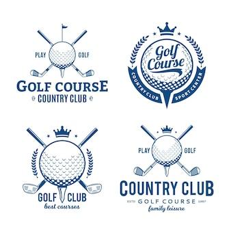 Logotipo do clube de golfe.