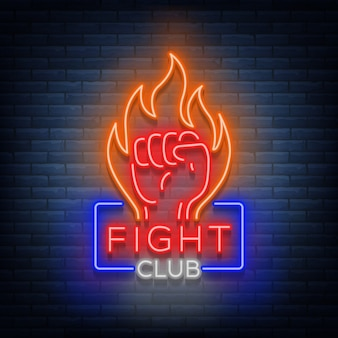 Logotipo do clube de luta