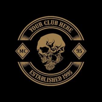 Logotipo do clube de motocicleta