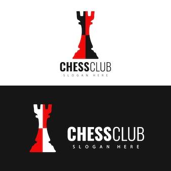Logotipo do clube de xadrez