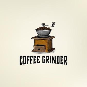 Logotipo do coffee grinder