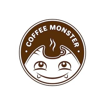 Logotipo do coffee monster