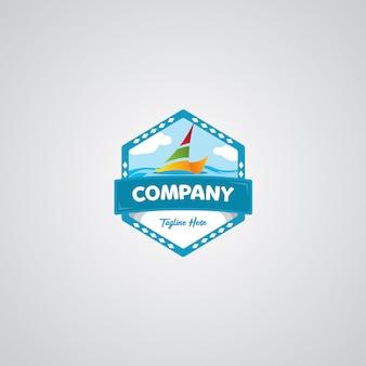 Logotipo do crachá de viagem