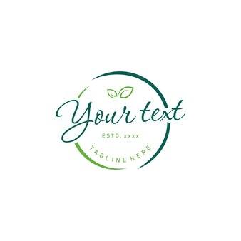 Logotipo do crachá eco
