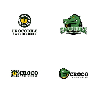 Logotipo do crocodilo